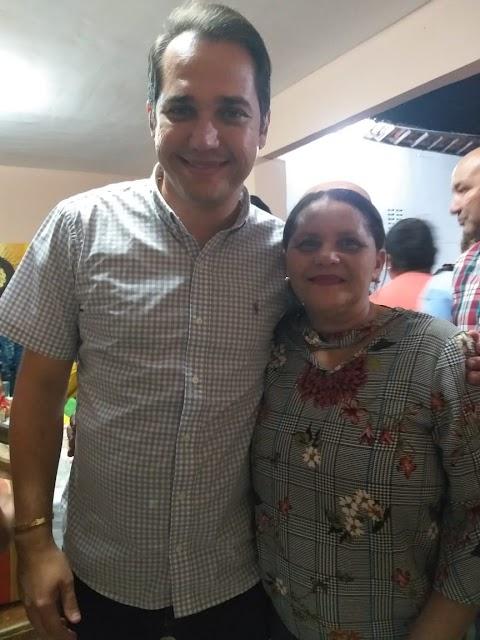 Fotos: A vereadora Professora Maria também esteve prestigiando o São João de Monte Alegre