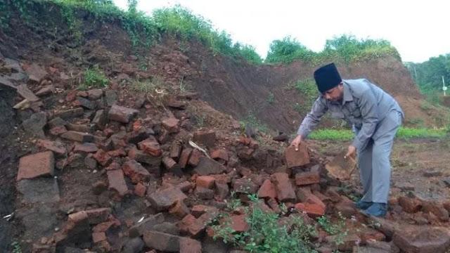 Situs Peninggalan Majapahit Ditemukan di Proyek Tol Malang-Pandaan
