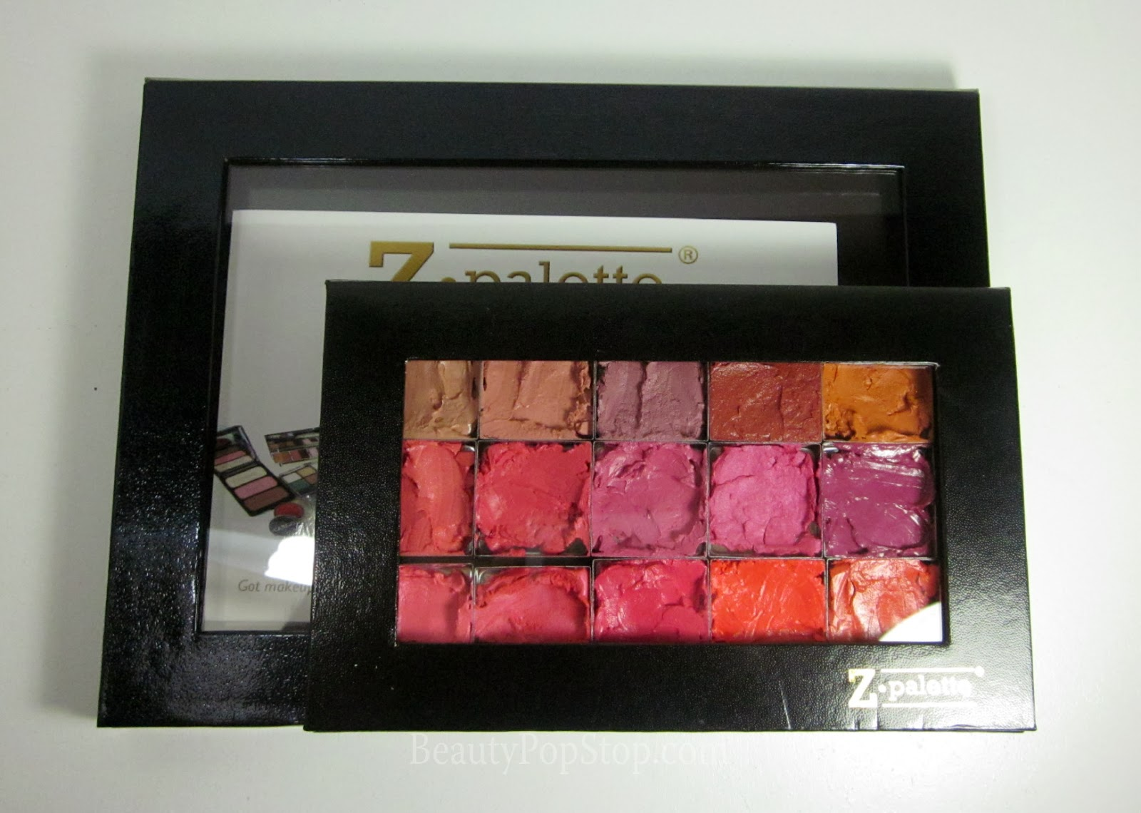 zpalette extra large compared to zpalette 4u review