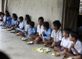 School feeding program.