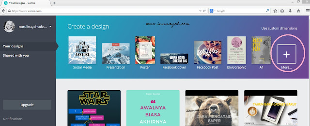 blog header design, cara membuat header blog, cara membuat hedaer blog memakai canva