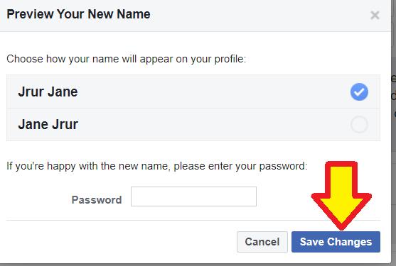 फेसबुक पेज का नाम कैसे बदले