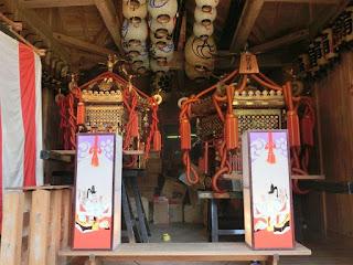 八坂大神の六角神輿