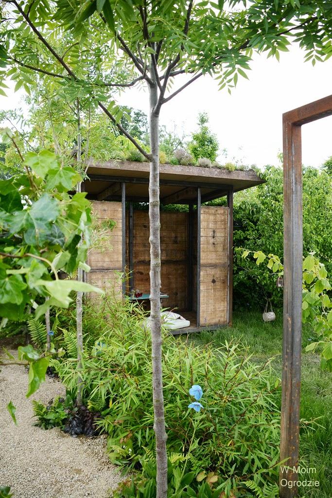 altana w ogrodzie pokazowym