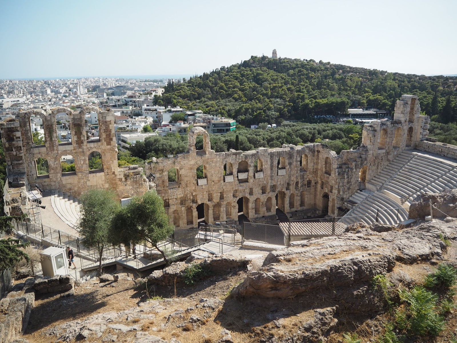 Odeon of Herodes Atticus south slope acropolis athens