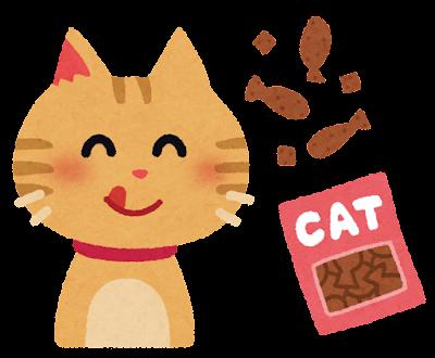猫のオヤツのイラスト