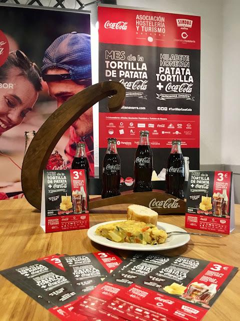 Segunda edición tortilla y Coca Cola en Navarra