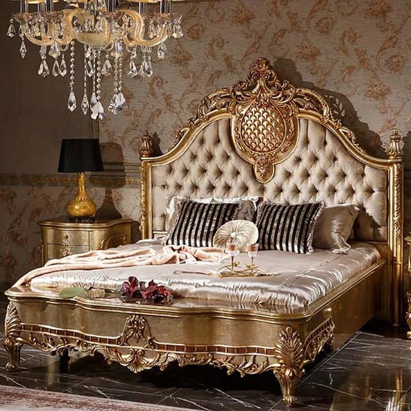 Kamar Set Klasik Mewah Gold