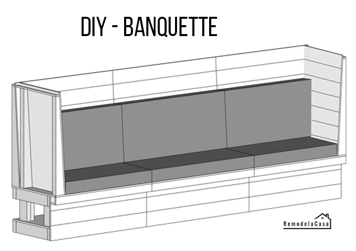 How to build a banquette