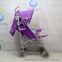 Creative Baby BS176 Breeze Buggy Baby Stroller Purple
