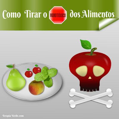 Como Tirar o Agrotóxico dos Alimentos