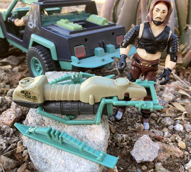 1984 Zartan and Chameleon, 1986 Thrasher, Sears Exclsive Dreadnok Ground Assault, Stinger, 2001, Funskool Zartan