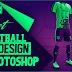 Best Football Kit Design Tutorial in Photoshop + Free Yellow Image Mockup by M Qasim Ali