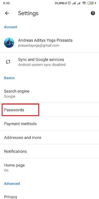 Cara Melihat Password Instagram Sendiri 2