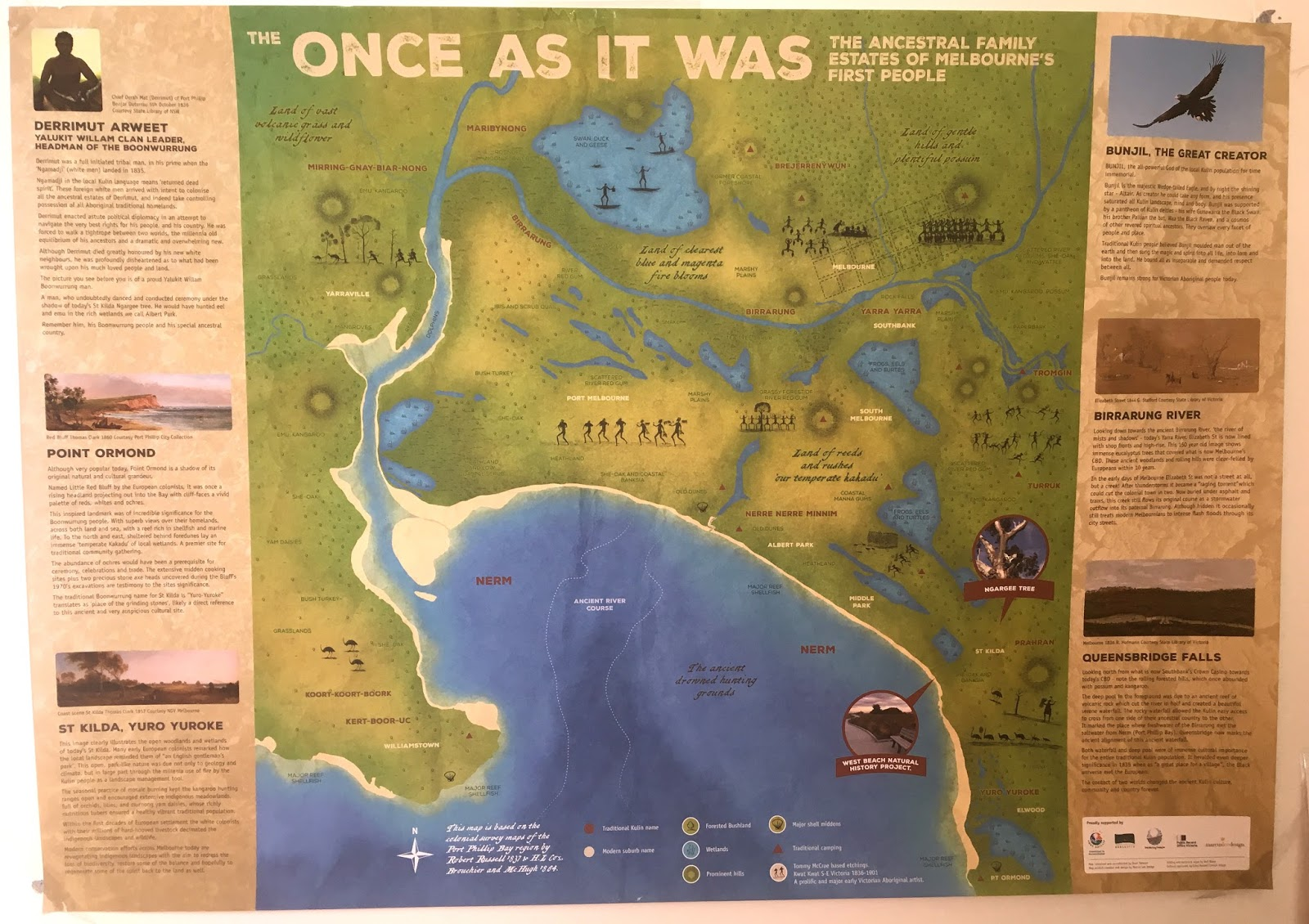 a future map of washington dc that shows our land when the anacostan nacotchtank tribe lived here is now in the works