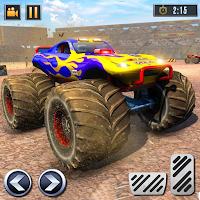 Real Monster Truck Demolition Derby Crash Stunts Mod Apk