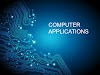 AREAS OF COMPUTER APPLICATION