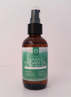 InstaNatural Argan Oil Hair Treatment & Elixir