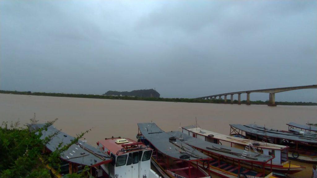Após as últimas chuvas, nível do rio São Francisco voltar a subir na região de Bom Jesus da Lapa-BA