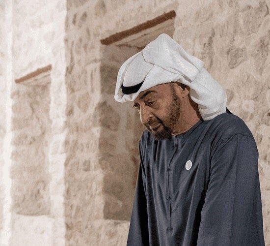 """إصابة ولي العهد محمد بن زايد  بفيروس كورونا """""""