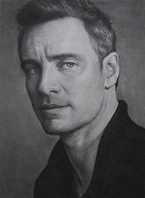 06-Michael-Fassbender-ekota21-Very-Detailed-Celebrity-Portrait-Drawings-www-designstack-co