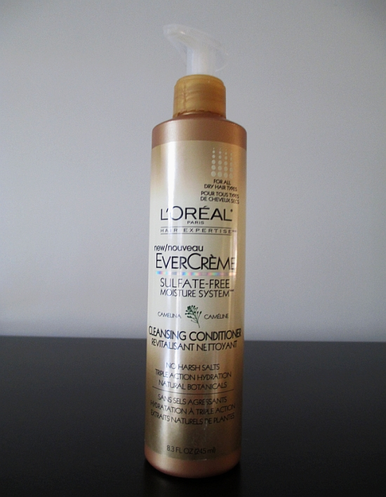 L'oreal EverCreme Cleansing Conditioner review!