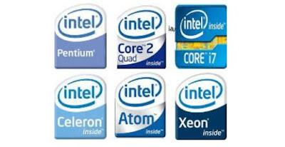 Tipe dan Jenis jenis prosesor komputer lengkap