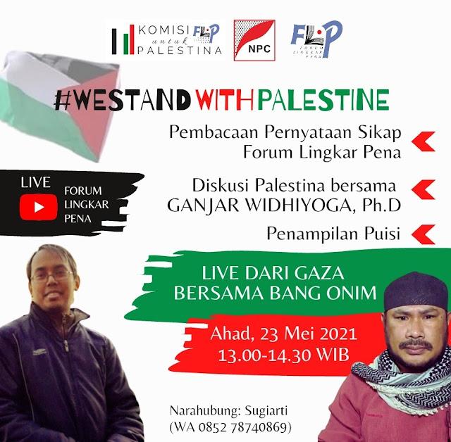 FLP Konsisten Membela Palestina