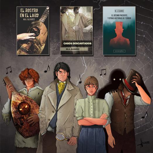 personajes novelas
