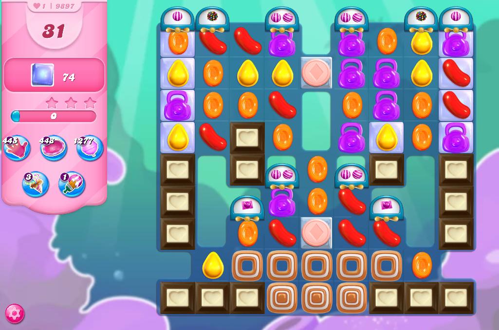 Candy Crush Saga level 9897