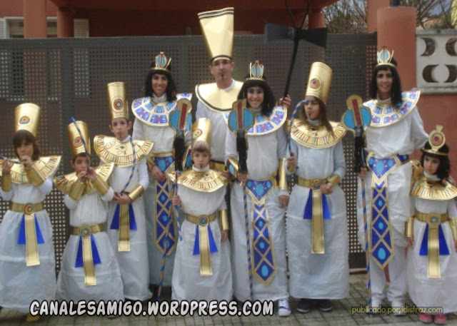 disfraces de egipcios bolsa de basura