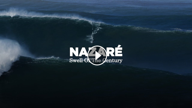 Nazaré Swell Of The Century 4K SLOW MOTION