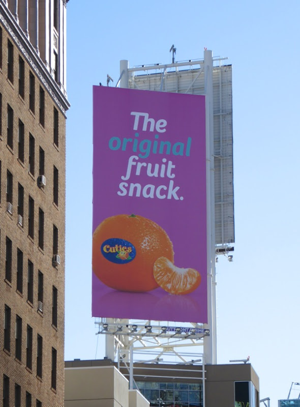 Cuties original fruit snack billboard