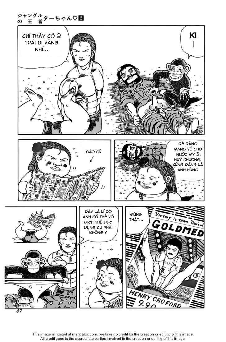 Chúa rừng Ta-chan chapter 22 trang 4