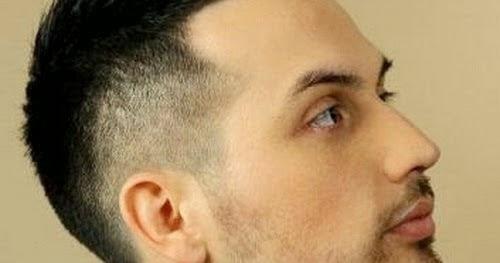 Potongan Rambut Pria Undercut Dari Samping