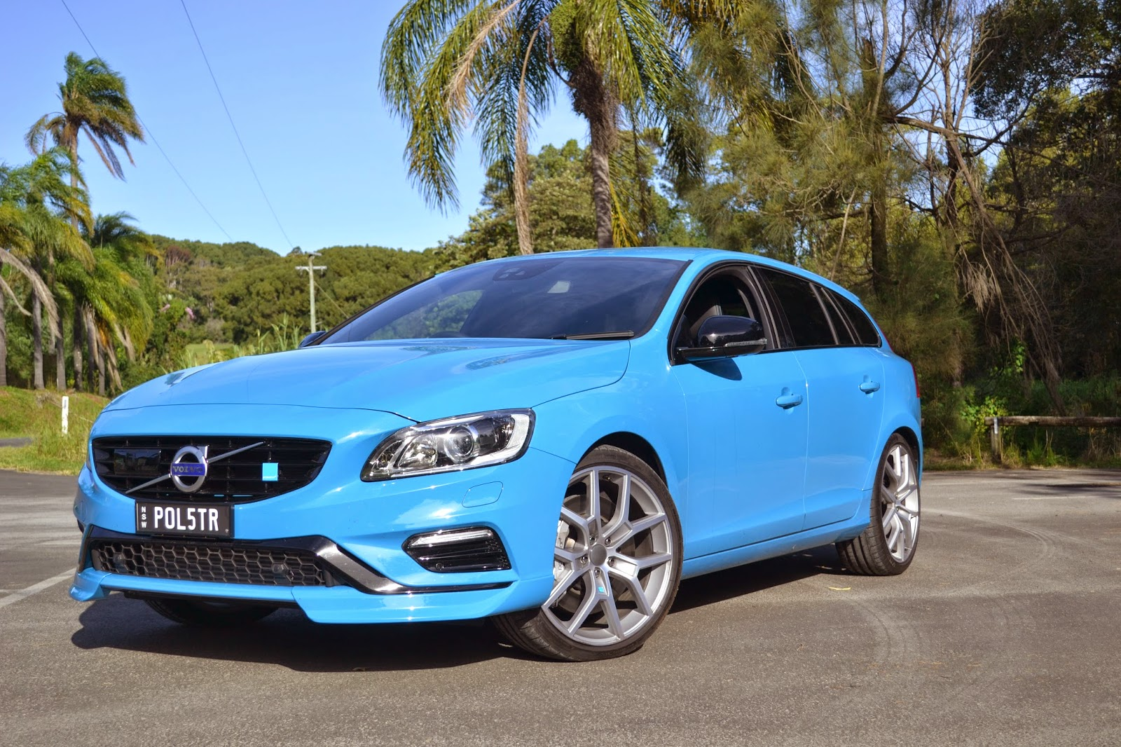 If you want to try and standout in the V60 Polestar, you have to go for blue