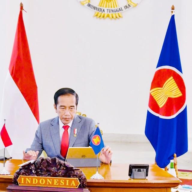 Jokowi Dorong Percepatan Pemulihan Ekonomi di Kawasan ASEAN