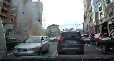 В центре Киева взорван автомобиль с грузинским гражданином