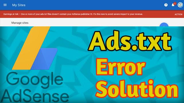 ads.txt,ads.txt file,what is ads.txt,how to fix ads.txt file,how to solve ads.txt file in google adsense,ads.txt adsense wordpress,ads.txt blogger,ads.txt wordpress,fix ads.txt,google adsense,how to fix ads.txt,how to create & solve ads.txt file problem,google adsense ads.txt file,how to create ads.txt file,what is ads.txt file,fix ads.txt adsense