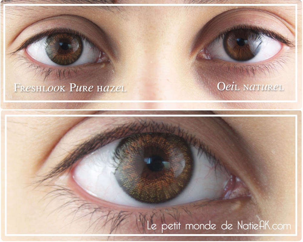 avis sur FreshLook One day Pure Hazel