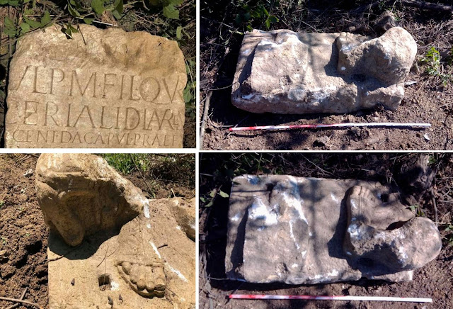 Inscribed Roman stone monument found in Serbia stolen after 24 hours