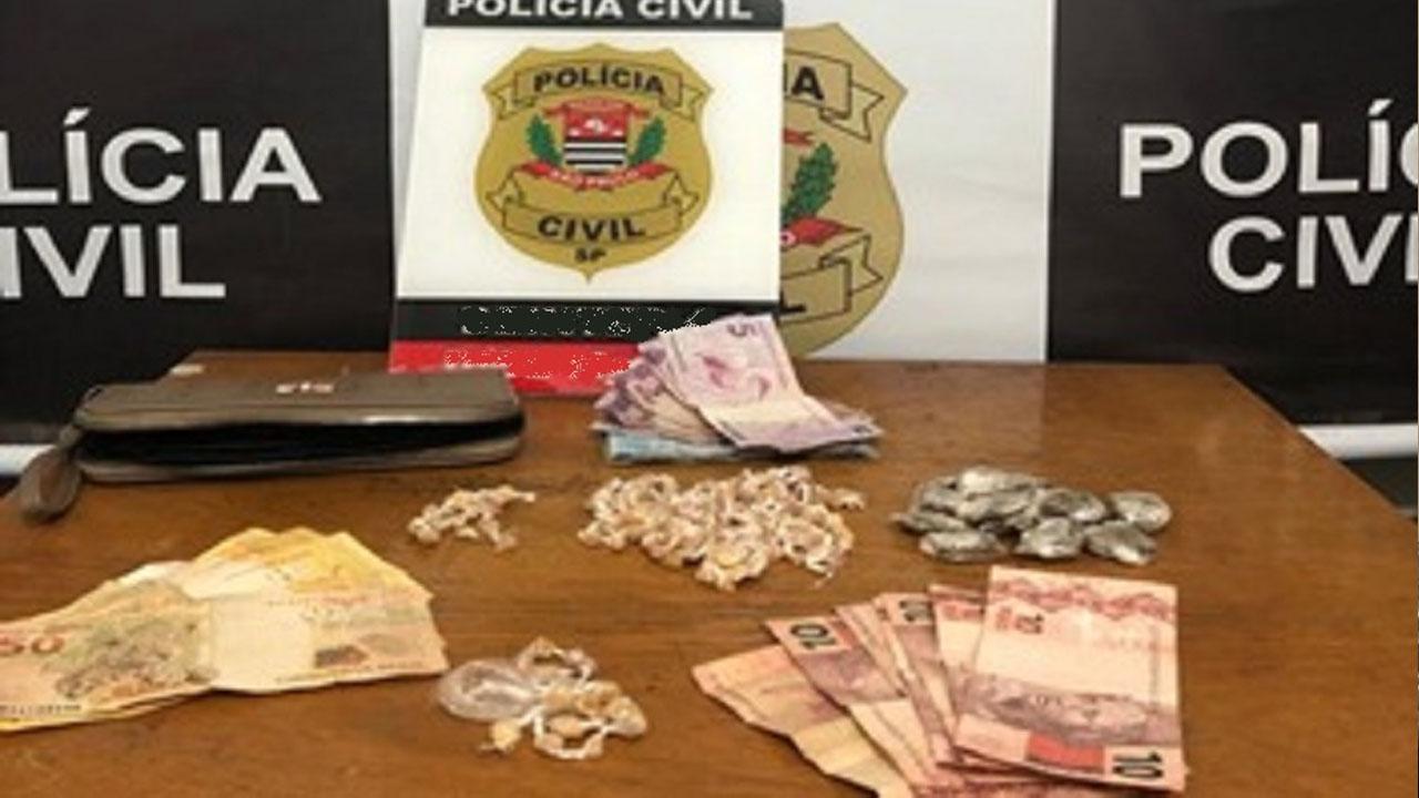 Dise de Marília detém dois por tráfico de drogas