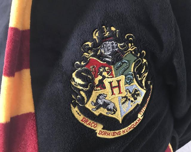 black mans Harry Potter dressing gown