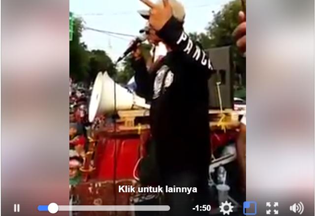 """Video Ahoker Kegirangan Ngaku Jadi Dalang Pembubaran HTI, """"Selanjutnya FPI Kita Injak-Injak"""""""