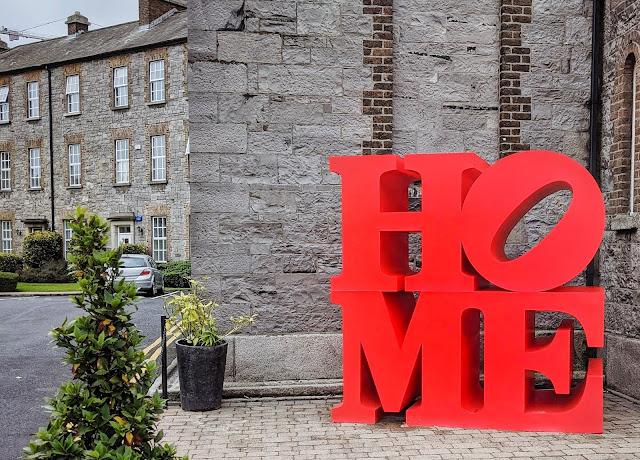Best Dublin Walks: HOME sculpture in Beggars Bush