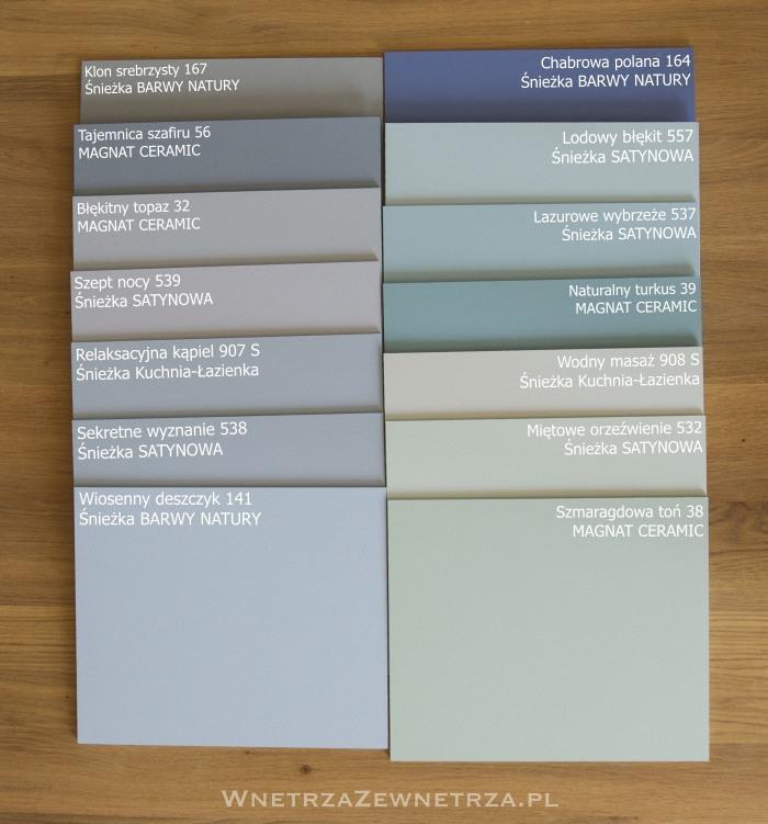Niebieskie ściany Jaki Kolor Farby Wybrać Wnętrza Zewnętrza