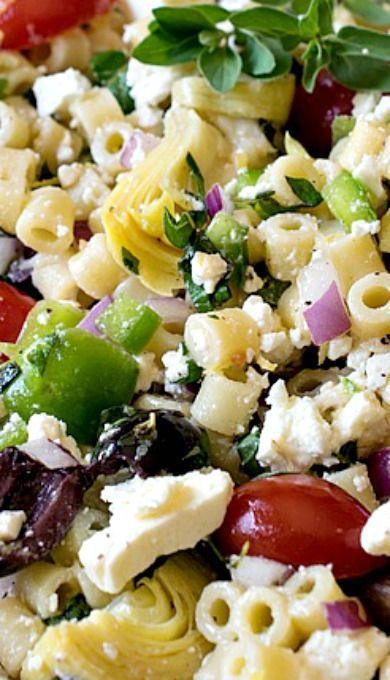 Mediterranean Pasta Salad #recipes #dinnerrecipes #goodfastrecipes #goodfastrecipesfordinner #food #foodporn #healthy #yummy #instafood #foodie #delicious #dinner #breakfast #dessert #lunch #vegan #cake #eatclean #homemade #diet #healthyfood #cleaneating #foodstagram
