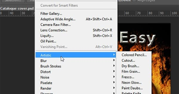 DesignEasy: Want Old Style Filter Menu in Photoshop CC?