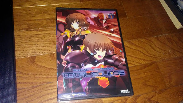 Rightstuf Review $25 Blind box : Muv-Luv Alternative Total Eclipse Collection 1 dvd
