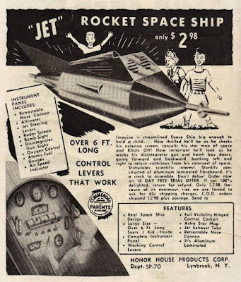 Jet Rocket Space Ship
